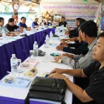 ประชุมองค์กรปกครองส่วนท้องถิ่นสัญจร วันที่ 15 กันยายน 2560